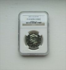 'Kennedy' Half Dollar - 2001 S - Ultra Cameo PF69 - NGC