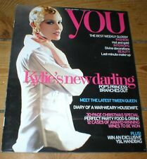 KYLIE MINOGUE Vanessa Hudgens Chris Carmack rare UK magazine from 2006