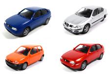Set of 4 model cars Seat HO Scale 1:87 (4cm) Cordoba SX Toledo Arosa
