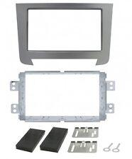 Radio-Aadapter 2DIN grau metallisiert SSANGYONG Rexton '13>