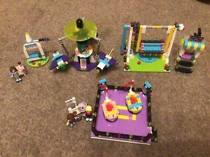 LEGO FRIENDS SETS 41128 AMUSEMENT PARK + 41133 BUMPER CARS