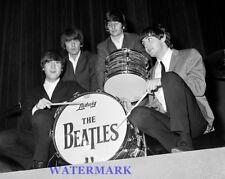 1964 The Beatles Black & White 8 X 10 Photo