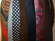 Cravate vintage 60/80 important lot ABIMEES divers marque théâtre/déguisement