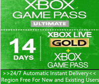 Xbox Live Gold + Game Pass (Ultimate) 14 Day 2 Weeks Trial Code Instant Delivery