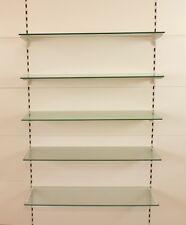 Wohnzimmer Standregal 100x93cm IKEA VITTSJÖ Regal in schwarzbraun; aus Glas;