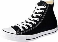 Converse Men's Chuck Taylor All Star HI High Top Casual Shoes Black 18