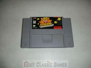 AUTHENTIC!! Kirby Super Star - Game Only - SUPER NINTENDO SNES  - 122a