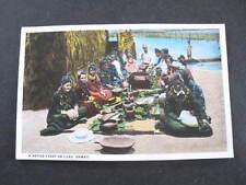 A Native Feast or Luau Hawaii Postcard