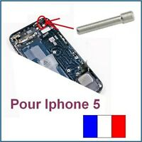 POUR Apple IPHONE 5 SUPPORT REMPLACEMENT BOUTON POWER Tige Goujon Vis Fixe