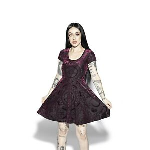 Blackcraft Cult - VELVET BAROQUE - Skater Dress