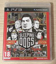 Sleeping Dogs Limited Edition Game for PS3, PAL Version