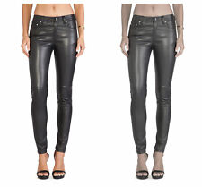 BLK DNM Women's Leather Pant 22 #WJL4401 $995 NWT