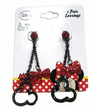 Disney Mickey Mouse Baby Girls Dress Up Accessory Earring Set Black Red Bows