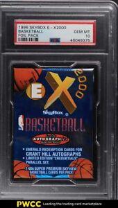 1996 Skybox E-X2000 Basketball Foil Pack PSA 10 GEM MINT