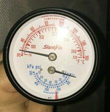 New Listingslant Fin New Old Stock Tridicator Boiler Temp Pressure Gauge 910 373 061
