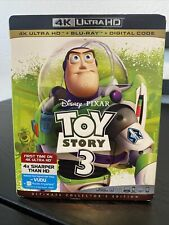 New ListingToy Story 3 4K Ultra Hd + Blu-Ray (No Digital) With Slip Cover Free Shipping