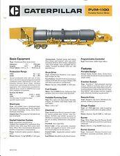 Equipment Brochure - Caterpillar - PVM-1100 - Portable Venturi Mixer (E3250)