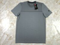 Men's Under Armour Vanish Seamless Short Sleeve Gray V-Neck Size Medium