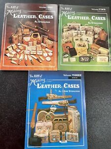 Art of Making Leather Cases 3 Volume Book Set by Al Stohlamn