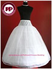 "3 hoop 2 layer Crinoline Petticoat Underskirt Size Large XL 45"""