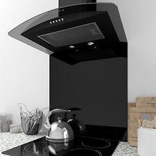 MyAppliances REF1120 70cm x 75cm Curved Gloss Black Splashback