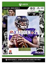 Madden Nfl 21 (Xbox One / Xbox Series X) Brand New Factory Sealed Football Game
