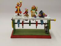 "Hallmark ""Pooh Bells"" Winnie the Pooh Collection Piglet Eeyore Tigger w Box"
