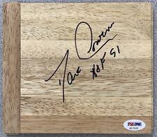 Dave Cowens Signed Floor Board Basketball Court Celtics Autograph NO CARD PSADNA