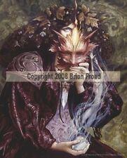 Retired Brian Froud Hestia Ceramic Fairy Fantasy Art Wall Tile 8x10 Fairy Queen