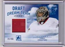COREY CRAWFORD 13/14 ITG 2014 Draft Prospects Dream Team Jersey #3 Blackhawks