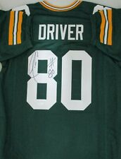 Packers DONALD DRIVER Signed Custom Replica Green Jersey AUTO - SB XLV Champ JSA