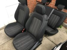 Vauxhall Corsa Limited Edition front and rear seats