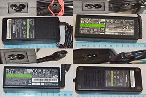 Sony Vaio Genuine PSU Various Original Laptop Charger Multi Listing