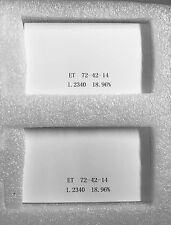Lava Compatible Zirconia Block (72 x 42 x 14) EXTREME TRANSLUCENT 2 Blocks