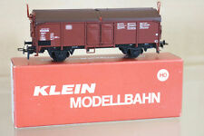 KLEIN MODELLBAHN 3262 DB SCHIEBEDACHWAGEN COVERED MINERAL WAGON 363-3 ni