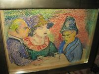 BÜGER Adolf, *1885  In der Bar 1958