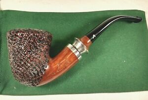 Beautiful Ascorti Sabbia Di Oro KS Bent Sand Blast Estate Pipe