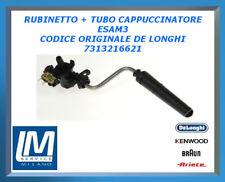 RUBINETTO+TUBO CAPPUCCINATORE ESAM3 7313216621 DE LONGHI ORIGINALE