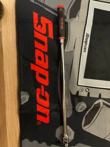 "snap on 1/2"" Shbb24 breaker bar Red Soft Grip 24"" Long Brand New"