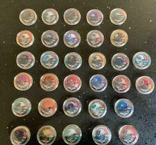 Todos los equipos de franquicia NFL 32-Coleccionable desafío monedas-Soporte de pantalla opcional