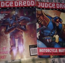 Judge Dredd The  Magazine no 12 &13