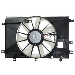 NEW A/C CONDENSER FAN FITS TOYOTA C-HR 2.0L 2018 163610T170 163630T210 TO3115199