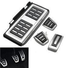4pcs Car Clutch Brake Accelerator Pedal Footrest Pad Cover For VW/Golf 7 GTi MK7