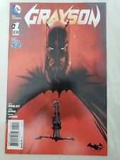 GRAYSON #1 (2014) DC 52 COMICS DICK GRAYSON! BATMAN 75TH ANNIVERSARY VARIANT
