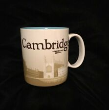 Starbucks Cambridge Mug Icon Kings College England Bicycle Cam Coffee Cup UK New