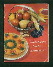 MAIZENA Hambourg bonne cuisine-Facile! Mme Barbara recettes photos 1960