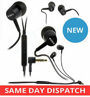 GENUINE SONY In-Ear HANDSFREE MH-750 STEREO EARPHONES XPERIA SP / E / T / Z1 / Z