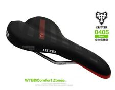 New WTB Volt Race Wide Black Saddle with CroMo Rails Bicycle Seat Chromoly 142mm