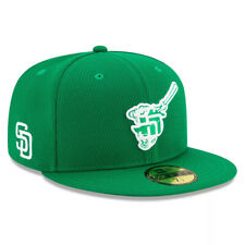 New Era Kelly Green San Diego Padres 2020 St. Patrick's Day On Field 59FIFTY HAT