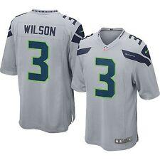 Nike Youth Seattle Seahawks Russell Wilson #3 Alternate Jersey Grey Small 8